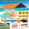 3*3m Tent Tarp Rain Sun Shade Hammock Shelter Waterproof Camping Picnic Pad