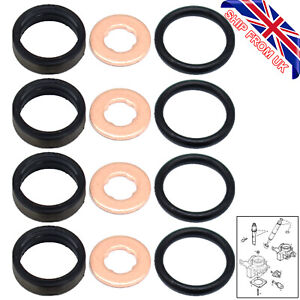 Car Fuel Injector O Ring Washer Seal Repair For Opel Vauxhall DI TD DTI CDTI