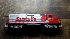 Life-Like Santa Fe Warbonnet Diesel Locomotive #3500 17793