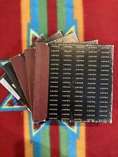 """Vintage Magnetic 7"""" Reel To Reel Tapes LOT OF 5 1/4"""" Scotch 111 200 Ampex 541"""