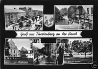 AK, Fürstenberg Havel, Kr. Gransee, fünf Abb., gestaltet, 1966