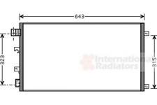 Kondensator, Klimaanlage für Klimaanlage VAN WEZEL 13005281