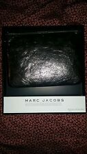 Marc Jacobs Neiman Marcus Target Metallic Leather Pouch Bag