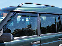 Land Rover Discovery 2  Td5 & V8  Wind Deflectors Set of 4  DA6071
