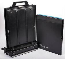 Polaroid 8X10 calumet manual processor with 81-06 holder + FRESH BW film