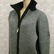 Dale Of Norway Womens Sweater Ski Jacket Size L Water Stain Repellant Full Zip