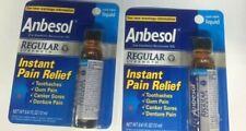 2 pc Anbesol Liquid Regular Strength Cool Mint 0.41 oz