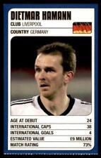 Revista de coincidencia-Trump Tarjetas (2002) de la Copa del Mundo Dietmar Hamann (Alemania)