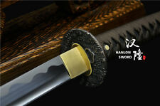 Japanese Samurai Sword 1095 Carbon Steel Blade Katana Battle Ready Full Tang