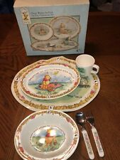 Vintage Selandia Disney Classic Winnie the Pooh Child Dinnerware Set 6 Piece Nib