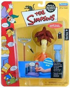 The Simpsons World of Springfield Series 9 Prison Sideshow Bob Figure