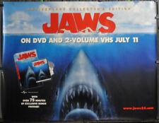 JAWS 2000 ORIGINAL ROLLED SUBWAY MOVIE POSTER 46X60  ROY SCHEIDER ROBERT SHAW