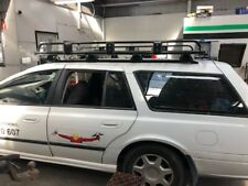 Tradies Open End Steel Roof Rack 2150x1155mm for Ford Falcon Station Wagon