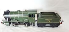 004P Hornby O Gauge E120 Special 0-4- 0 Southern Locomotive & Tender Electric