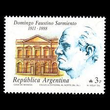 Argentina 1988 - Death of Domingo Faustino Sarmiento President - Sc 1631 MNH