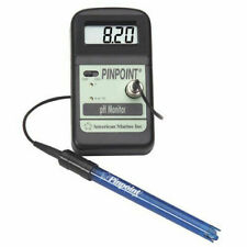 AMERICAN MARINE PINPOINT PH MONITOR + PROBE AND CALIBRATION FLUID