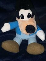 Vintage Disney Mickey's Christmas Carol Goofy Plush Stuffed Animal 8""
