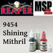 SHINING MITHRIL 9454-MSP 15ml 1/2oz paint pot peinture figurine REAPER MINIATURE