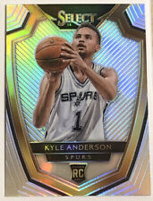 Kyle Anderson RC 2014-15 Select Premier #199 Rookie SILVER PRIZM REFRACTOR MINT!