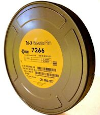 KODAK 16mm Tri-X B&W Reversal Movie Film 7266 400' 160T/200D *NEW FACTORY FRESH*