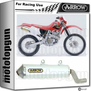 ARROW EXHAUST RACE ENDURO ALUMILITE HONDA XR 400 R 1996 96 1997 97 1998 98