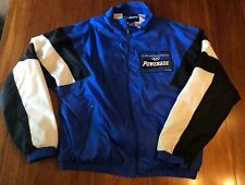 Powerade Windbreaker Track Jacket Official Sports Drink US Olympic Games Size L
