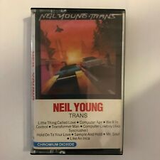 NEIL YOUNG TRANS CASSETTE AUDIO GEFFEN RECORDS 40-25019