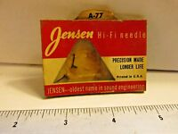 Jensen A-77 Hi-Fi cartridge astatic  new old stockFREE SHIPPING