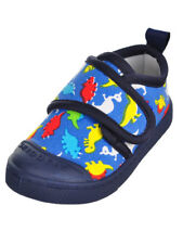 Skidders Baby Toddler Boys' Sneakers Shoes Blue Colored Dinosaurs Print Size 4