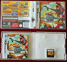Nintendo DS ! RARE jeu YU-GI-OH! WORLD CHAMPIONSHIP 2011 OVER THE NEXUS, VF