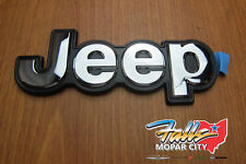14-2018 Jeep Cherokee Rear Liftgate Jeep logo Badge Emblem Mopar OEM 68203661AA