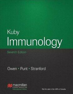 Kuby Immunology: 7th  Edition (International Edition) by Stranford, Sharon Book