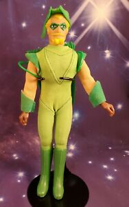 "Vintage 1974 Mego Corp Green Arrow 8"" WGSH Action Figure Nice Condition!"