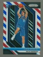 2018-19 Panini Prizm LUKA DONCIC RED WHITE & BLUE PRIZM ROOKIE RC #280 Mavericks