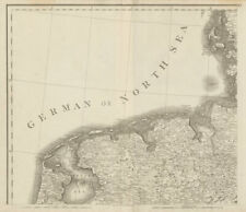 North Netherlands & North west Germany. Lower Saxony. CHAUCHARD 1800 old map