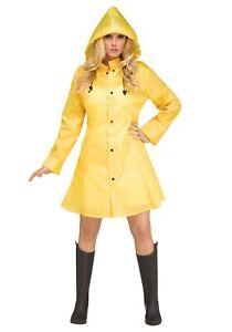 The Women's Yellow Raincoat Costume