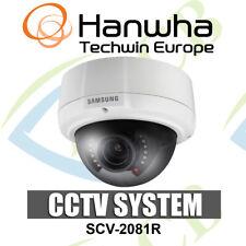 "Samsung SCV-2081R Cámara Domo 1/3"" de alta resolución 600TVL, IR LED 2.8-10mm vandalismo Proo"