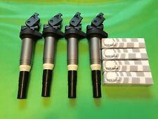 OEM BMW F34,F30,F25,F20,F10,E84,E89-N20 N26 Ignition Coil+Spark Plugs Tune Up