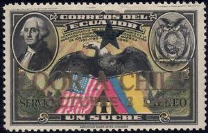 1945 Ecuador SC# C140 - Visit of Pres. Juan Antonio Rios of Chile - M-H