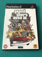 Grand Theft Auto 3 -GTA 3 -Sony PlayStation 2, 2001- PS2- PAL