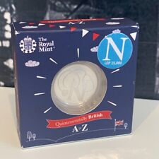 More details for lot of 2 x n for nhs silver proof 10p coin great british hunt gbch a-z letters
