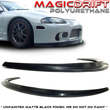 For 97-99 Mitsubishi Eclipse 2G DSM Splitter Style Front Bumper Lip GS GSX GST