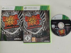 GUITAR HERO WARRIORS OF ROCK XBOX 360 PREOWNED