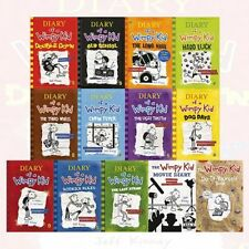 Diary of a Wimpy Kid Collection 13 Books Set Old School The Long Haul Hard Luck