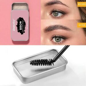 Eyebrow Soap Gel 3D Feather Brows Makeup Tint Fixed & Brush Long Lasting Natural