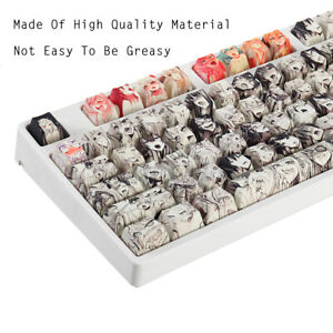 108 Key Glorious Ahegao Anime Waifu Manga Keycap Set For Mechanical Keyboard