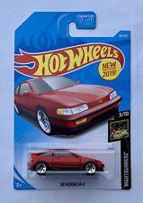 Hot Wheels Honda CR-X Crx Si Sir Type R S Spoon Mugen Spec K JDM Turbo Red Oem