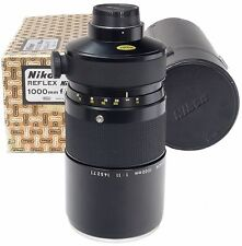 NIKON Reflex-Nikkor 1100mm f11 + Custodia-Boxed -