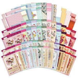 73 Sheets Hunkydory Flourishing Florals Collection Card Kits, Summer,
