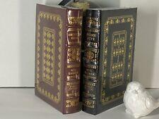 American Gods & Anansi Boys BOTH SIGNED by Neil Gaiman SEALED Easton Press